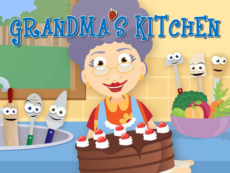 Your Kids Will Have A Great Time Cooking In Grandma's Kitchen | First Grade | Scoop.it