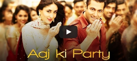 Special Eid Festival Song from Bajrangi Bhaijaan Aaj Ki Party Released | Entertainment News | Scoop.it