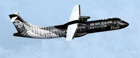 FS2004/FSX - Air New Zealand ATR 72-600 | aircraft | Scoop.it