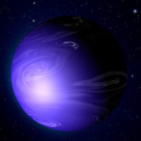 Exoplanète : Le télescope Hubble détecte une planète bleue ... | Nouvelles Astronomiques | Scoop.it