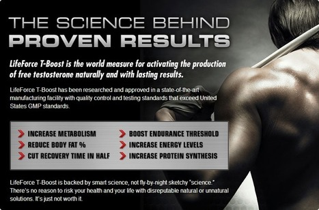 LifeForce T-Boost Review - Have You Tried Life Force T Boost? Buy Now! | | Claim your strong muscles! | Scoop.it