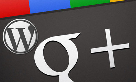 Cómo conectar Google+ con WordPress para aumentar tu SEO | Riesgos: Periodismo en red | Scoop.it