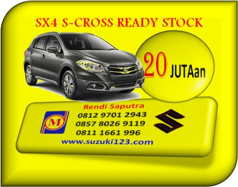 NEW SX4 S-CROSS BEKASI READY STOCK<br/>CICILAN 2,7 JUTA   BERITA SATU MEDIA   Scoop.it