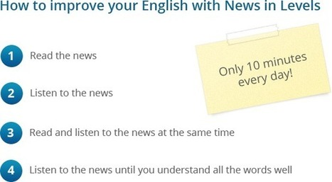 English news and easy articles for students of English | ICTs in EFL | Scoop.it