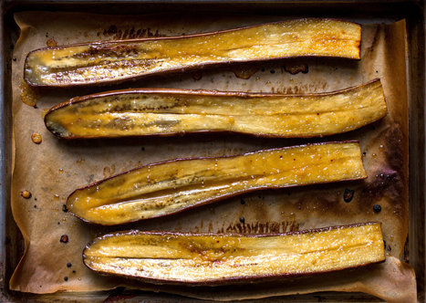 Miso-Glazed Eggplant - New York Times | Japanese cooking make you heathly | Scoop.it