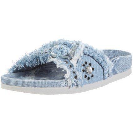 &&&   Birkenstock Jade 40473, Unisex – Erwachsene Clogs & Pantoletten aus Textil, Blau (Jeans Denim), EU 42 (schmal) | Birkenstock Online Shop | Scoop.it