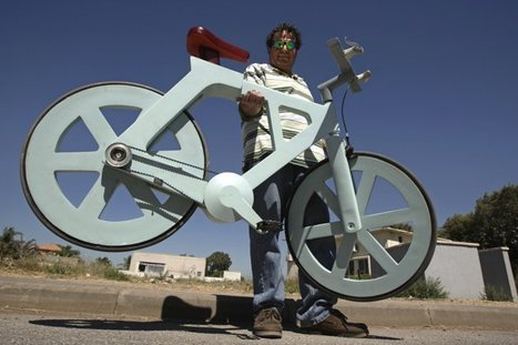 Cardboard bicycle can change the world, says Israeli inventor | Exploring Current Issues | Scoop.it