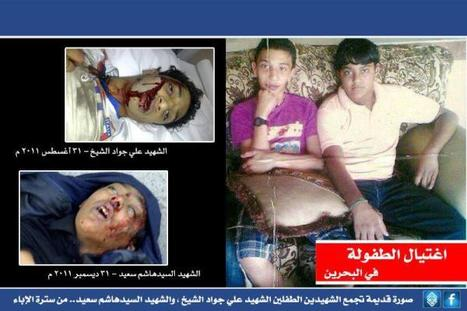 Two Best Friends Murdered by Police. STOP #BahrainKidAbuse | Human Rights and the Will to be free | Scoop.it