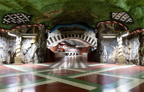 Amazing Underground Art In Stockholm's Metro Station | Share Some Love Today | Scoop.it