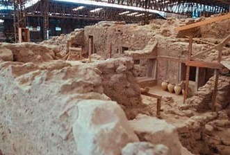 Archaeological site: Akrotiri, known as the «Pompeii of the Aegean», reopens on on the island of Santorini (Greece) | Archaeology Travel | Scoop.it