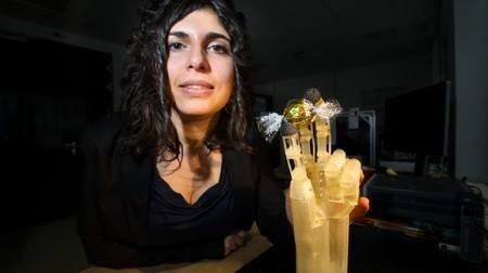 Shape-memory wire simulates muscle in high-precision artificial hand | Longevity science | Scoop.it