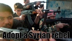 Why Not Sponsor A Syrian Rebel And Watch Him Kick Butt? | Stirring Trouble Internationally - Humorous Comments and Analysis Of News And Current Affairs | News From Stirring Trouble Internationally | Scoop.it