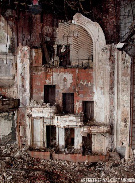 Remains of the box seats, Paramount Theatre Newark, NJ [632x467][OC] | Rebrn.com | Modern Ruins | Scoop.it