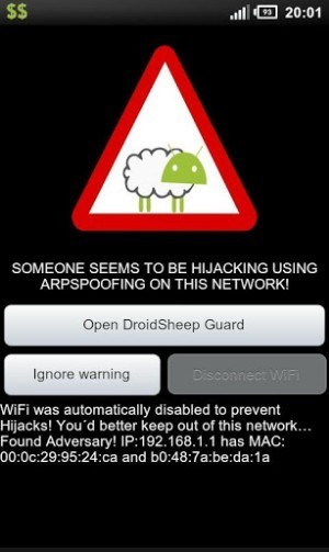 DroidSheep Guard - Applications Android - CyberSecurity | apps educativas android | Scoop.it