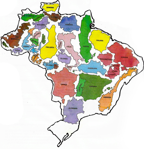 Brazil and Europe | Geography Education | Scoop.it