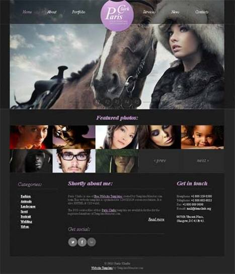 20 Free Readymade Website Templates With PSD Files | Template & Webdesign | Scoop.it