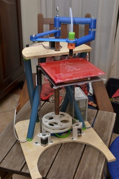"Quentin Harley released SCARA based ""RepRap Morgan"" 3D printer and its design 