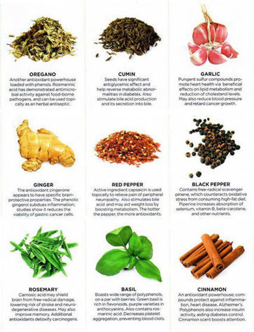 9 Powerful Healing Herbs and Spices We Need To Talk More About | Work, Eat, Think, Live, Love | Scoop.it