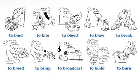 Verbos Irregulares del Inglés con ejemplos (Página 2) | Sherton English | jfeour | Scoop.it