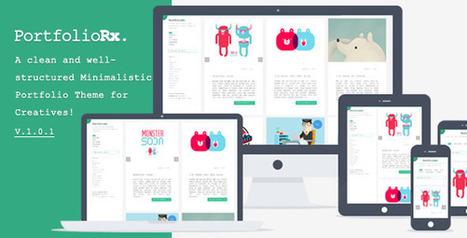 40 Responsive wordpress portfolio themes - DesignMain.com | Designmain.com - Design, Inspiration & Freebies | Scoop.it
