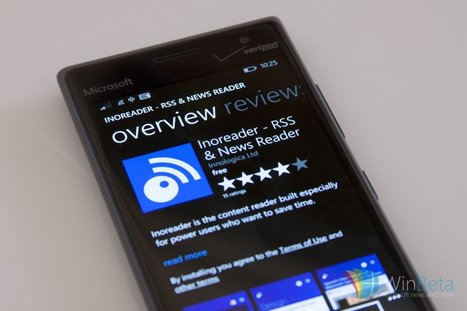 Inoreader is a popular RSS feed reader and is now available on Windows Phone | RSS Circus : veille stratégique, intelligence économique, curation, publication, Web 2.0 | Scoop.it