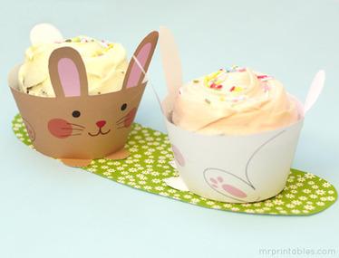 Printable Cupcake Wrappers for Kids Parties | Mr Printables | Brownies, Muffins, Cheesecake & andere Leckereien | Scoop.it