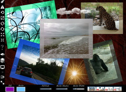 ShapeEffects iPad Scrapbooking App Turns Photos Into Collages | Best iPhone Apps and iPad Apps | Scoop.it