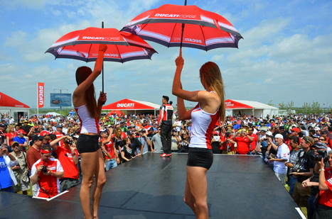 Cota 2014 Ducati Island Saturday | Vicki's View | Ductalk Ducati News | Scoop.it