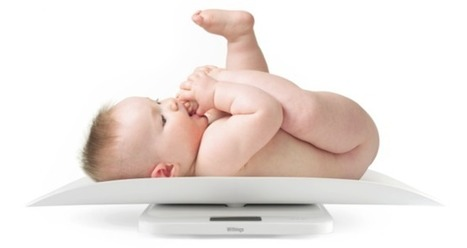 This 'Smart Baby Scale' automatically updates Facebook with your ... | Bright Baby Care | Scoop.it