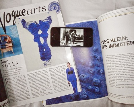 Beautyfineprint: Is Yves Klein blue the new baroque? | Fashion | Scoop.it