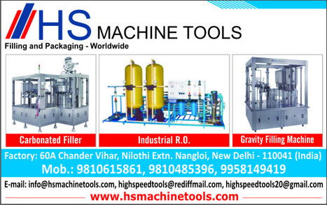 Manufacturing Reverse Osmosis Systems in India - HS Machine Tools | Waste Water Treatment Systems | Scoop.it