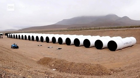 Elon Musk's Hyperloop vision races toward first public test   Geek Tech   Scoop.it