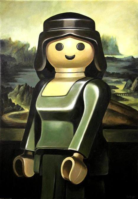 Un peintre recrée les plus célèbres tableaux avec des Playmobils | Graphic Design | Scoop.it