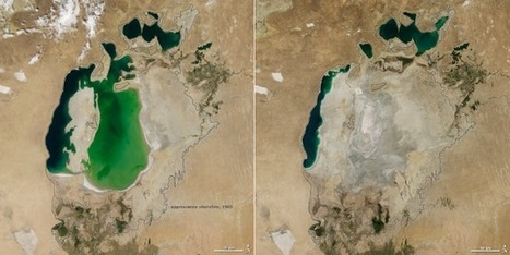 The Shrinking Aral Sea Has Been Reduced To A Mere Sliver | Ingeniería del Agua | Scoop.it