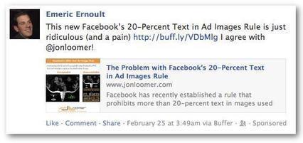 Domain Sponsored Story, el Formato de Facebook Ads que Ofrece Mejores Resultados | Social Media | Scoop.it