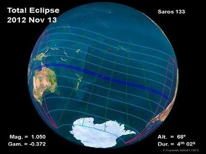 L'éclipse totale du Soleil retransmise en direct sur internet | Dr. Goulu | Scoop.it