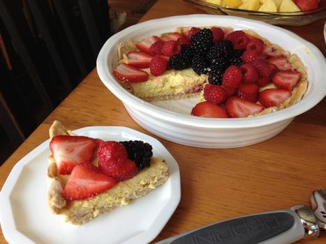 Vegan Fruit Tart | Yzenith's Recipes | Scoop.it