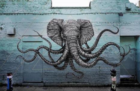 À Londres, le street-art ne se résume pas qu'à Banksy | Créativité urbaine | Scoop.it