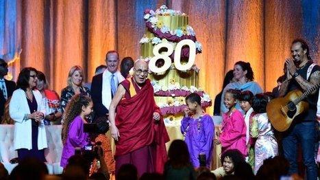 Amériques - Le dalaï-lama fête son 80e anniversaire en Californie | La pleine Conscience | Scoop.it