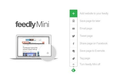 Feedly Mini: manage content from everywhere | RSS Circus : veille stratégique, intelligence économique, curation, publication, Web 2.0 | Scoop.it