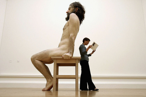 The Hyperrealistic Sculptures of Ron Mueck | Art & Design: Digital & Analog - and (Interior) Architecture | Scoop.it