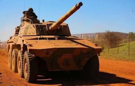 SA made combat vehicles 'spotted' in Libya - eNCA | Saif al Islam | Scoop.it
