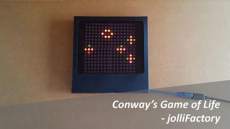 Arduino based Bi-color LED Matrix Game of Life | Raspberry Pi | Scoop.it
