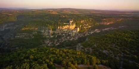 Une belle photo générale (et plutôt rare) de Rocamadour | Autour de Carennac et Magnagues | Scoop.it