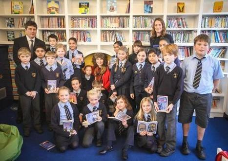 Children's author unveils new school library to excited pupils | Libraries in Demand | Scoop.it
