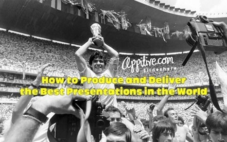 How to Produce and Deliver the Best Presentations in the World | elearningeducation | Scoop.it