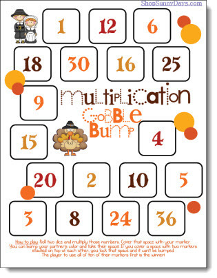 Gobble Bump Multiplication Game | Multiplication Teaching Resources | Scoop.it
