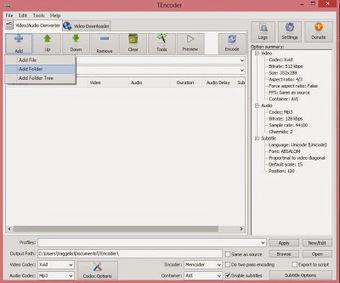TEncoder Video Converter : Ισχυρή εφαρμογή για τη μετατροπή αρχείων βίντεο και ήχου - Τα καλύτερα δωρεάν προγράμματα   path to Ithaca   Scoop.it