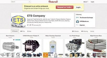 Does a Cleaning-Equipment Company Belong on Pinterest? | BEAUTY + SOCIAL MEDIA | Scoop.it