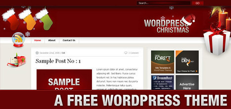 16 Free WordPress Christmas Theme For This Season   Get your PSD's Converted to HTML   Scoop.it